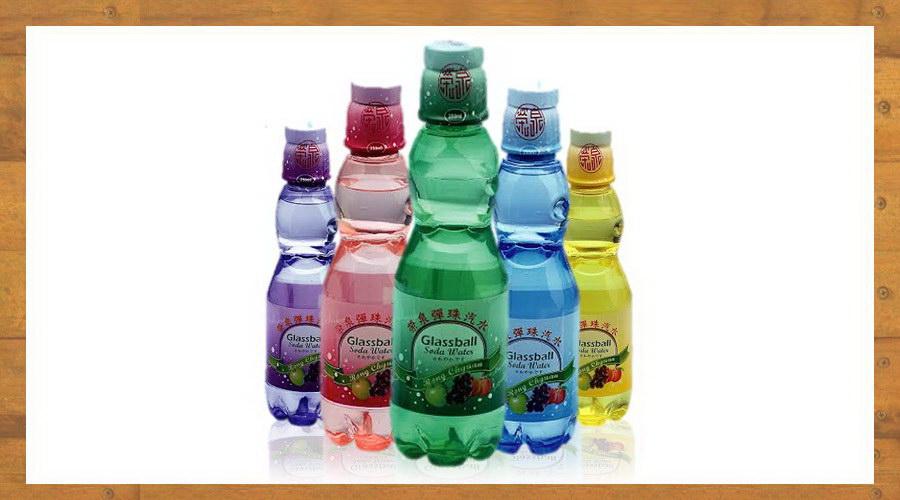全台第一家研發彈珠汽水新口味:水蜜桃、葡萄、檸檬萊姆、鳳梨